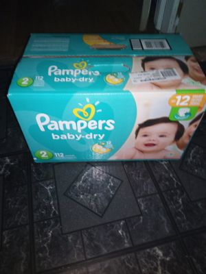 Pampers size 2 112 for Sale in Detroit, MI