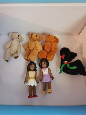 1:6 scale Teddy Bears and dolls for Sale in Bexley, OH