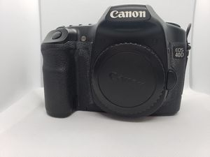 Canon 40D w/ battery grip and accessories for Sale in HUNTINGTN BCH, CA