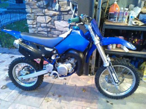 2001 Yamaha yz80 dirt bike