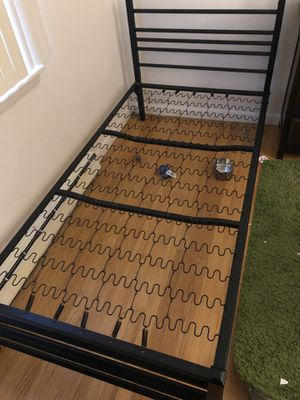 Solid Iron Twin Bed frame for Sale in Southington, CT