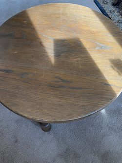 Solid Oak Table for Sale in Broomfield,  CO