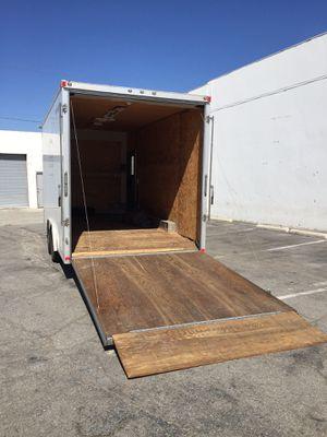 2013 Cargo Trailer 18ft for Sale in El Monte, CA