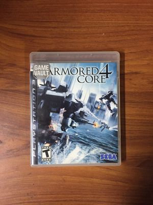 Armored Core 4 - Ps3 for Sale in Moreno Valley, CA