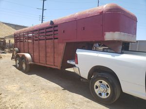 Cattle trailer for Sale in Stockton, CA