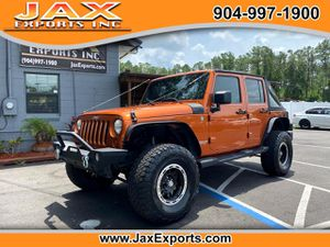2010 Jeep Wrangler Unlimited for Sale in Jacksonville, FL