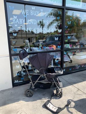 Joovy Caboose double sit n stand stroller for Sale in Laguna Hills, CA