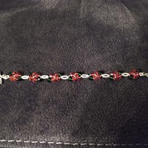 Handmade glass bead bracelet for Sale in Granite Quarry, NC
