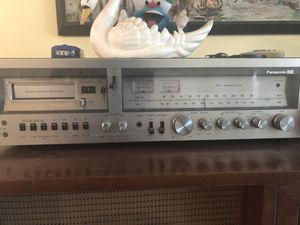Vintage Panasonic Stereo Receiver for Sale in Fort Lauderdale, FL