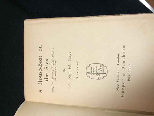 A lot of six awesome antique books see and boat related 1913 to 1920