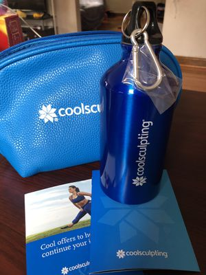 Water Bottle With Coolsculpting ad for Sale in Brooklyn, NY