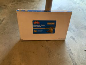 Wire dog crate for medium dog for Sale in Chattanooga, TN