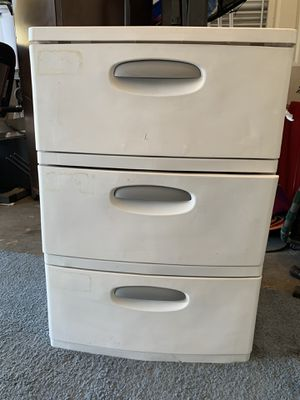 Plastic drawer for Sale in North Las Vegas, NV