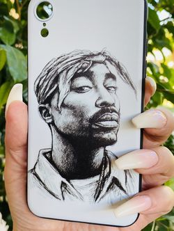 Brand new cool iphone XR case cover silicone rubber 2 Pac Rap Girls guys womens mens hypebeast hype fundas for Sale in San Bernardino,  CA