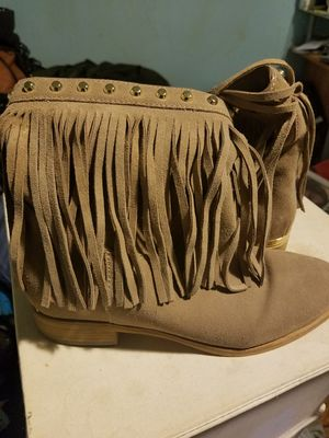 Michael Kors fringe boots for Sale in Chicago, IL