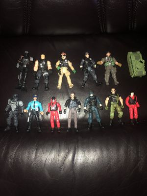 """Lot Of 12 Lanard Corps, Chap Mei, Military 4"""" Action Figures for Sale in Hayward, CA"""