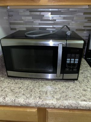 Black Decker Microwave for Sale in Alexandria, VA