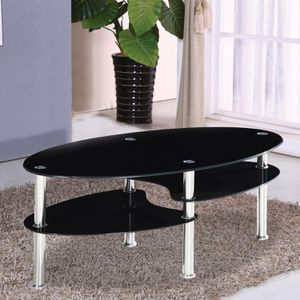 "Rounded Oval Coffee Table 43x24x17H, ""WAREHOUSES CLOSEOUTS SALE UP TO 70% OFF"" for Sale in The Bronx, NY"