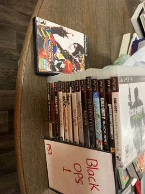 Ps3 bundle. One ps2 game also 🙄 for Sale in Rancho Cucamonga, CA