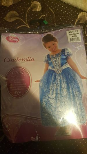 Cinderella Costume girls for Sale in Columbus, OH