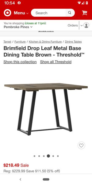brand new Dining room table!! for Sale in Fort Lauderdale, FL