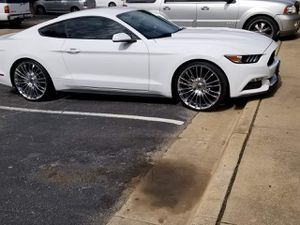 22 inch low profile tires and rims for Sale in Irving, TX