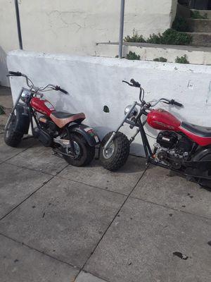 2 mini bikes bajas for Sale in San Francisco, CA