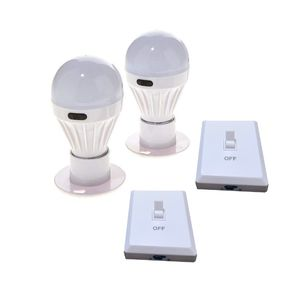 2 - Battery Operated Wireless LED Light Bulb, Night Lights, COB LED Cordless Light Switch for Sale in Ontario, CA