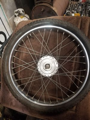 Collectors bicycle tire, wheel with brakes for Sale in Everett, WA