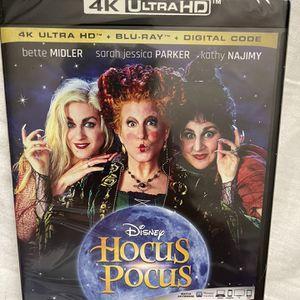 Disney Hocus Locus 4KUltraHd +Bluray+Digital for Sale in Artesia, CA