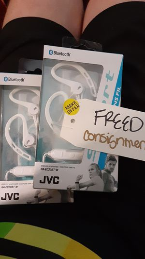 (2) JVC Sport Earbud/Headphones for $30** NEW for Sale in Seattle, WA