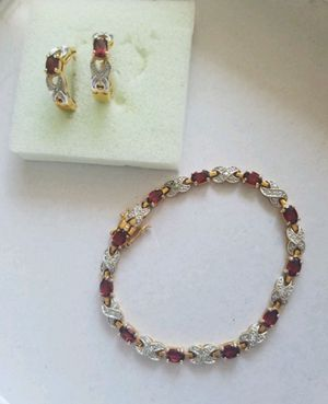 Bracelet and earring set for Sale in Vestal, NY