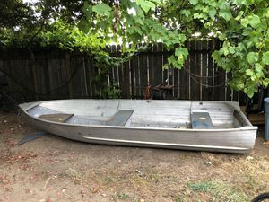 Aluminum fishing boat for Sale in Vancouver, WA