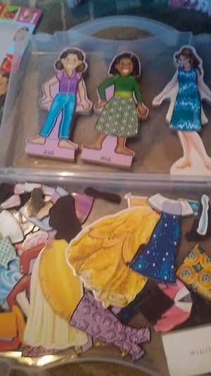 Paper dolls-magnetic clothes shoes and accessories for Sale in Lake Worth, FL