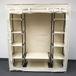 "(New In Box) $35 each Fabric Wardrobe Closet Storage Clothes Organizer 60x17x68"" (3 Colors) for Sale in Whittier, CA"
