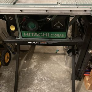 "Hitachi C10RA2 10"" Table Saw for Sale in Brier, WA"
