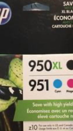 Genuine 950xl -951 HP Ink Cartridges for Sale in Hanford,  CA