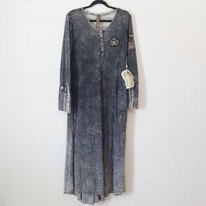 Aratta Silent Journey Henley Maxi Dress for Sale in Crandon, WI
