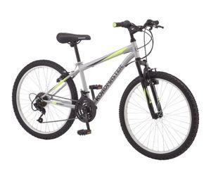 Roadmaster Granite Peak Boy's Mountain Bike, 24-inch wheels, Silver for Sale in San Diego, CA