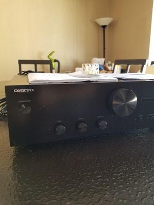 Onkyo A-9110 Integrated Stereo Amplifier Open Box for Sale in Las Vegas, NV