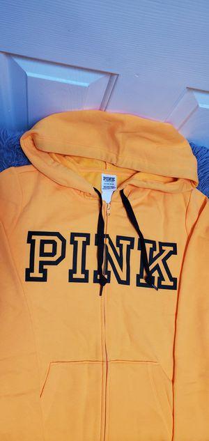Brand New Victoria's Secret Pink VS Hoodie Full Zip Sweater Small $42.00 for Sale in Gardena, CA