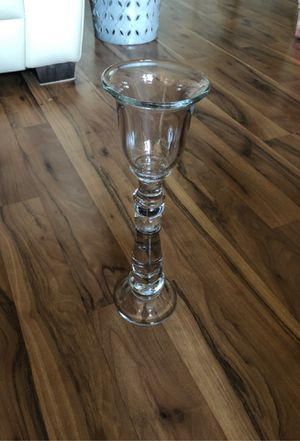 Glass candle holder from Pottery Barn for Sale in Woodinville, WA