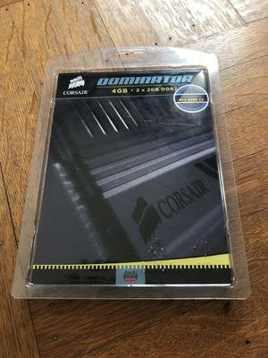 CORSAIR DOMINATOR 4GB 2 x 2GB DDR2 PC2 8500 C5 for Sale in CAPE ELIZ, ME
