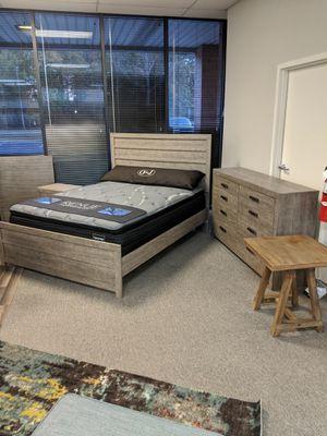 Queen Grey Bed Frame NEW for Sale in Virginia Beach, VA