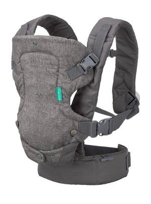 Brand new- Infantino Flip 4-in-1 Infant, Baby Convertible Carrier- gray for Sale in Nashville, TN