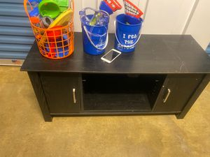 Brown tv stand for Sale in Pensacola, FL