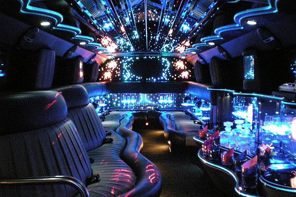 Limos and party buses