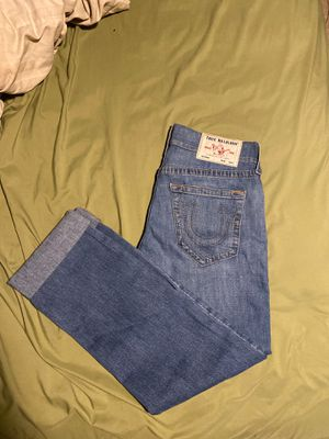True religion jeans size 31 straight for Sale in Fort Lauderdale, FL