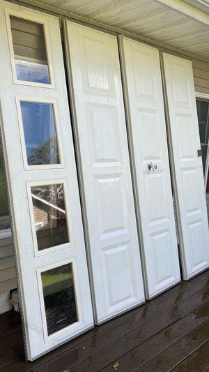Aluminum garage door panels (non-insulated) for Sale in Willingboro, NJ