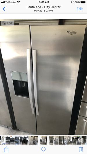 Whirlpool side by side for Sale in Santa Ana, CA